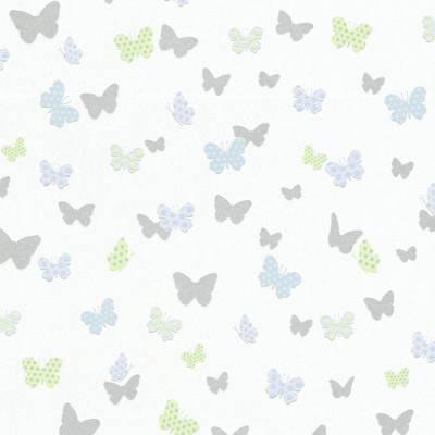 A.S. Creation BEAUTIFUL WALLS | 369333 | Vliestapete Kindertapete | 0.53 m x 10.05 m | Weiß