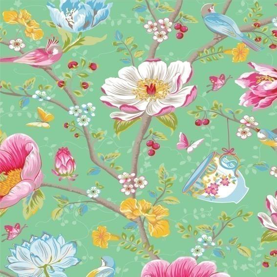 Eijffinger Tapete Kollektion PIPSTUDIO3 341005 Blumen-Muster & Motive