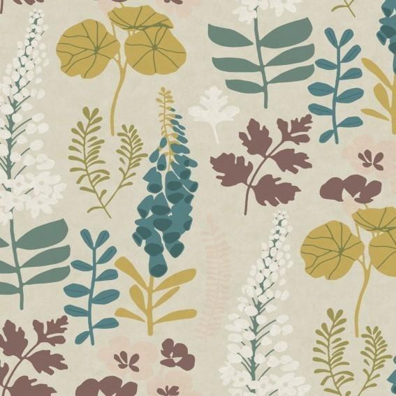 Eijffinger Tapete Kollektion VIVID 384533 Blumen-Muster & Motive