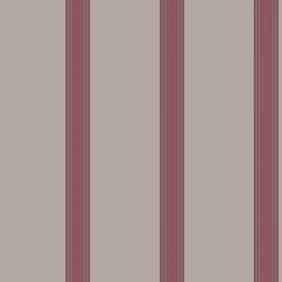 Rasch Textil Lipari | 329758 | Vliestapete Streifen | 0.53 m x 10.05 m | Rot