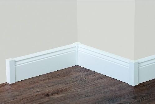 Fußbodenleisten Weiß weiße sockelleisten vld trade gmbh