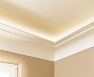 Lichtleisten für Boden und Decke