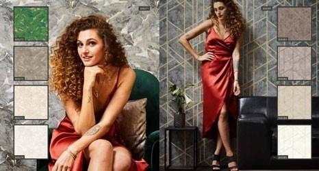Tapeten in grafischen Muster und floralen Mustern für den perfekten Mailand Look