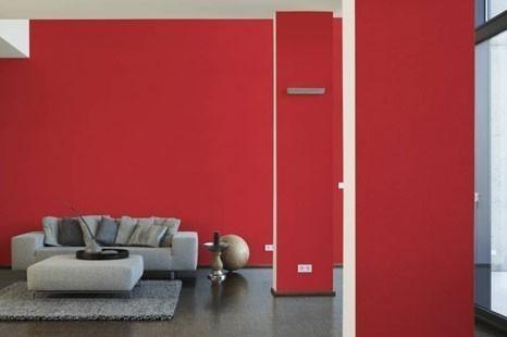 Rote Tapeten bringen Leidenschaft & Feuer in Ihre Räume